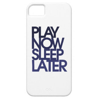 Play now sleep later iPhone SE/5/5s case