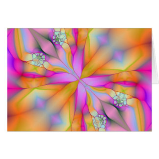 Play On Fractal 2 Greeting Card