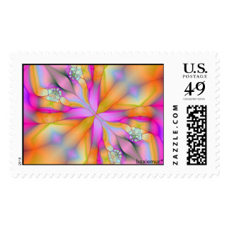 Play On Fractal 2 Postage Stamps