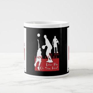 Play or Stay Home Jumbo Mug 20 Oz Large Ceramic Coffee Mug