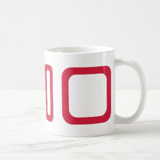 Play pause stop coffee mug