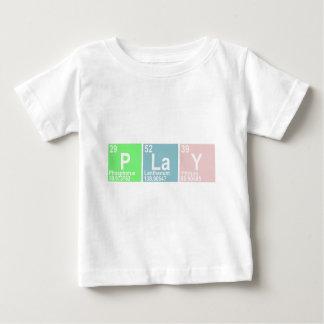 PLaY (Phosphorus  Lanthanum Yttrium) Baby T-Shirt
