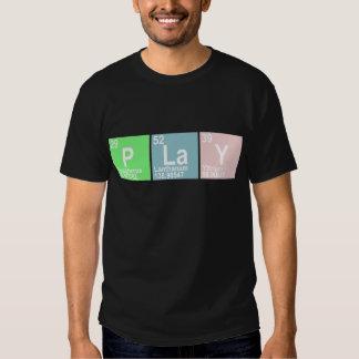 PLaY (Phosphorus  Lanthanum Yttrium) T-shirt