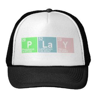 PLaY (Phosphorus  Lanthanum Yttrium) Trucker Hat