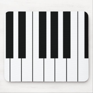 play piano music mouse pad