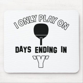 Play ping pong mouse pad