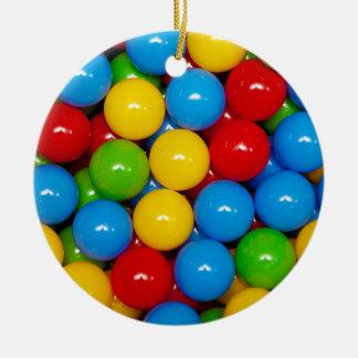 play-pit balls ceramic ornament