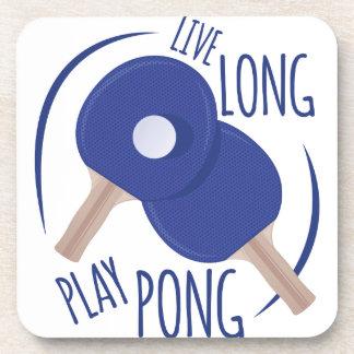 Play Pong Beverage Coaster