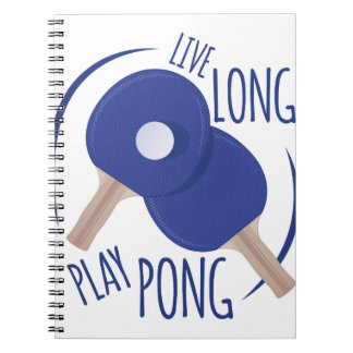 Play Pong Notebook
