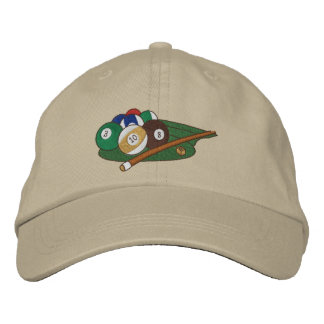 Play Pool Embroidered Baseball Hat