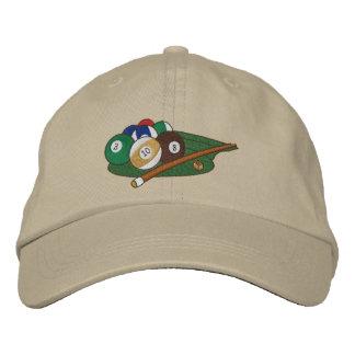 Play Pool Embroidered Baseball Caps