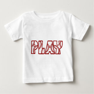 PLAY, redwhite Baby T-Shirt
