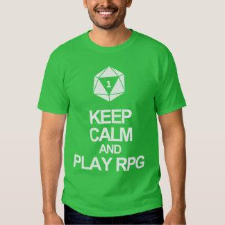 Play RPG T Shirt