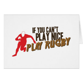 Play Rugby Card