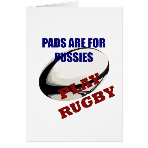 Play Rugby Greeting Cards