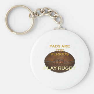 Play Rugby Keychain