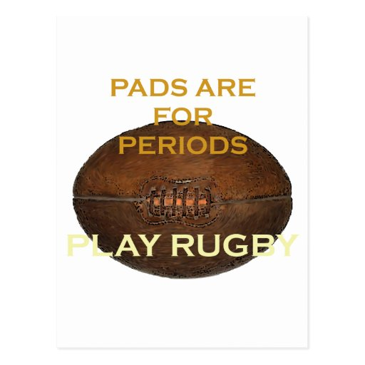 Play Rugby Post Card