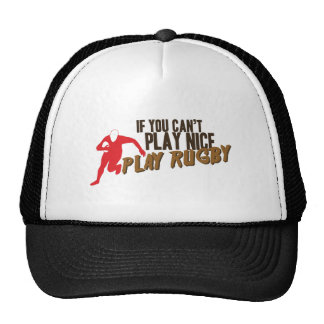 Play Rugby Trucker Hat