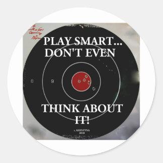 PLAY SMART STICKER