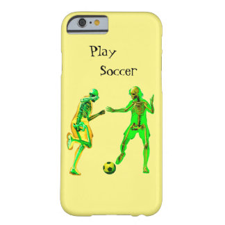 Play Soccer Barely There iPhone 6 Case