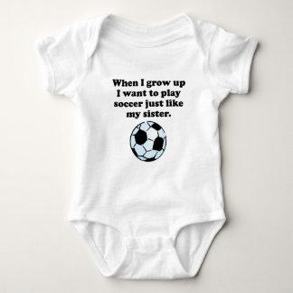 Play Soccer Like My Sister T-shirt