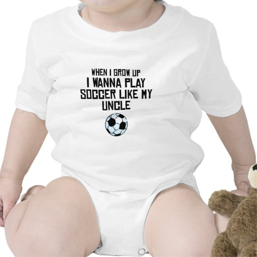 Play Soccer Like My Uncle Baby Creeper