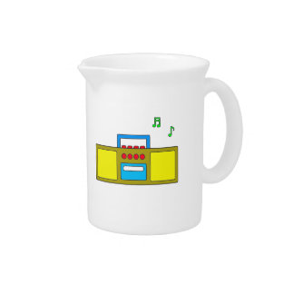 Play Song Radio Happy and Fun Drink Pitchers