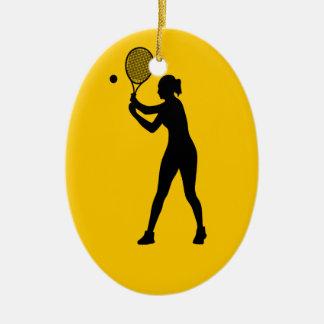 Play Tennis Day - Appreciation Day Ceramic Ornament