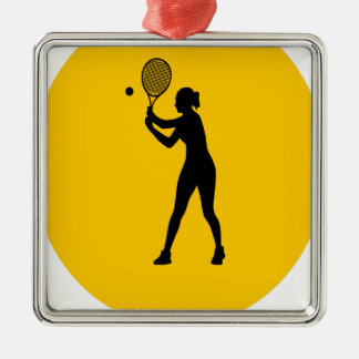 Play Tennis Day - Appreciation Day Metal Ornament