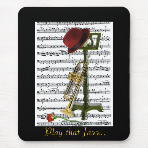 Play that Jazz Mouse Pad