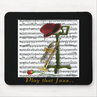 Play that Jazz Mousepads