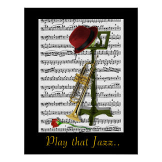 Play that Jazz Poster