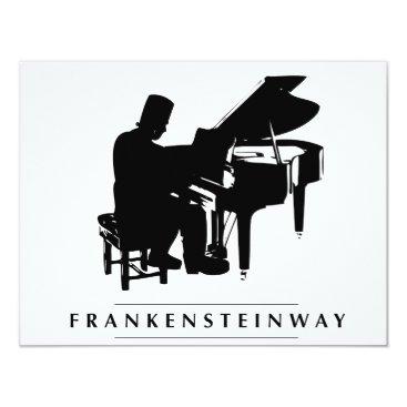 Halloween Themed Play the Frankensteinway! Card