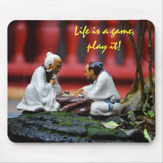 Play the game mousepad