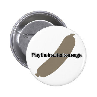 Play the Insulted Sausage (English) - German Idiom Button