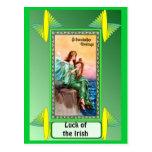 Play the Irish harp Postcard