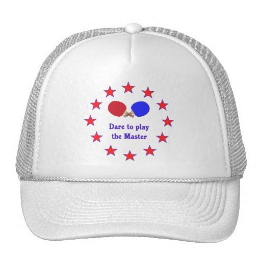 Play the Master Ping Pong Trucker Hat