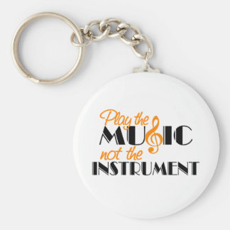 Play The Music Keychain
