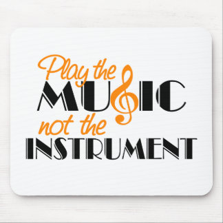 Play The Music Mousepad