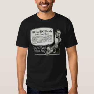 Play the Saxophone vintage ad Shirt