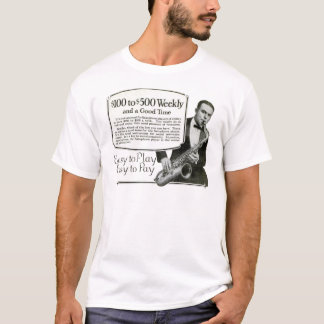 Play the Saxophone vintage ad T-Shirt