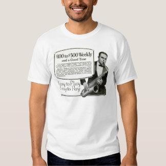 Play the Saxophone vintage ad Tee Shirt
