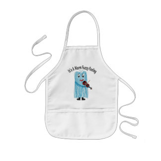 Play the Violin - Get a warm Fuzzy Feeling! Kids' Apron