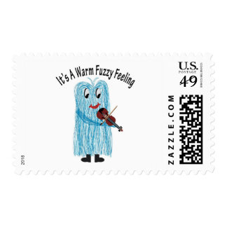 Play the Violin - Get a warm Fuzzy Feeling! Stamp