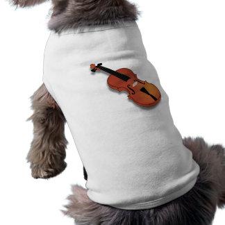 Play the violin to violin violin tee