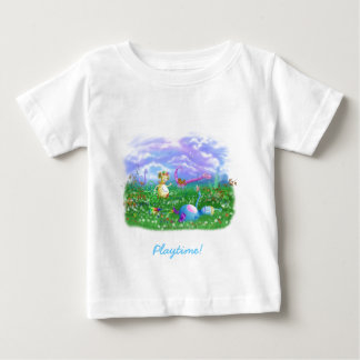 Play Time at Twisty Twicks Garden! Baby T-Shirt