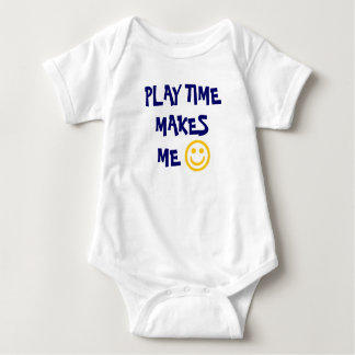 PLAY TIME MAKES ME HAPPY SHIRT