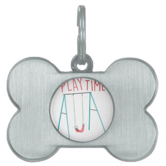 Play Time Pet Tag