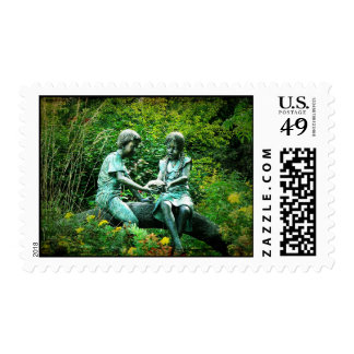 Play time postage stamps