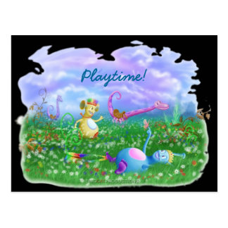 Play Time Post Card